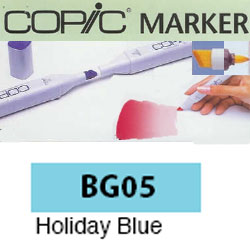 ROTULADOR <b>COPIC MARKER 'BG05' HOLIDAY BLUE</b>