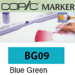 ROTULADOR <b>COPIC MARKER 'BG09' BLUE GREEN</b>