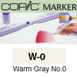 ROTULADOR <b>COPIC MARKER 'W00' WARM GRAY</b>