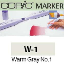 ROTULADOR <b>COPIC MARKER 'W01' WARM GRAY</b>