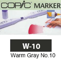ROTULADOR <b>COPIC MARKER 'W10' WARM GRAY</b>