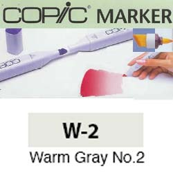 ROTULADOR <b>COPIC MARKER 'W02' WARM GRAY</b>
