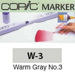 ROTULADOR <b>COPIC MARKER 'W03' WARM GRAY</b>