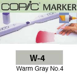 ROTULADOR <b>COPIC MARKER 'W04' WARM GRAY</b>