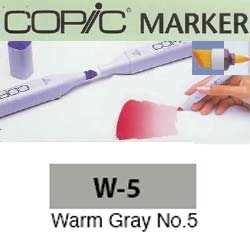 ROTULADOR <b>COPIC MARKER 'W05' WARM GRAY</b>