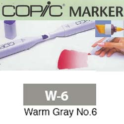 ROTULADOR <b>COPIC MARKER 'W06' WARM GRAY</b>