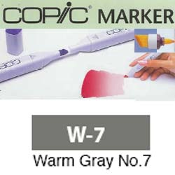 ROTULADOR <b>COPIC MARKER 'W07' WARM GRAY</b>