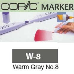 ROTULADOR <b>COPIC MARKER 'W08' WARM GRAY</b>