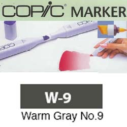 ROTULADOR <b>COPIC MARKER 'W09' WARM GRAY</b>
