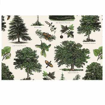 PAPEL DECORACION ARBOLES 70x100