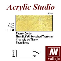 ACRILICO 'STUDIO 42' 200ml. TITANIO CRUDO